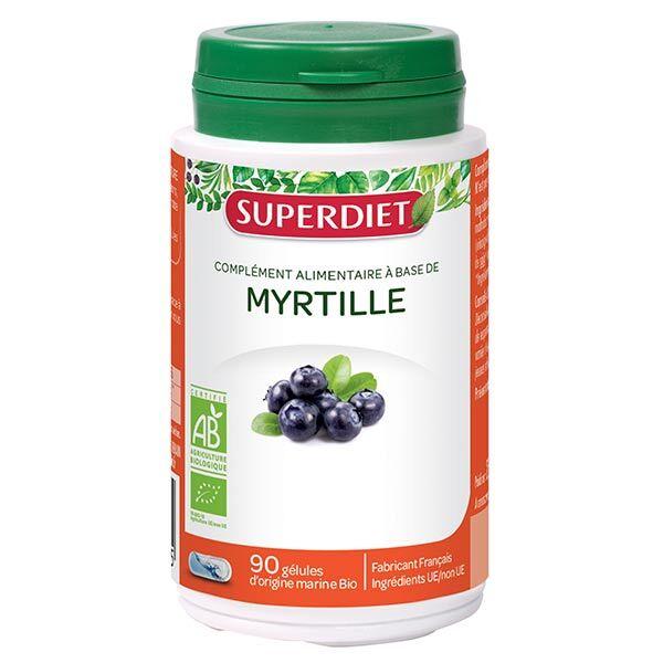 Superdiet Myrtille Bio 90 gélules