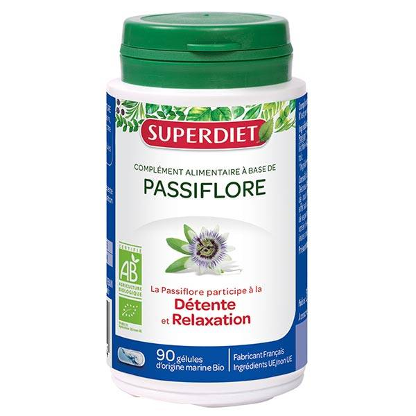 Superdiet Passiflore Bio 90 gélules