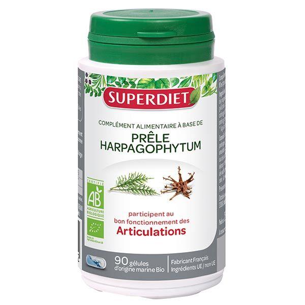 Superdiet Prêle Harpagophytum Bio 90 gélules