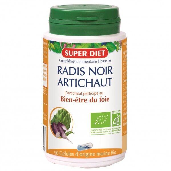 SuperDiet Super Diet Radis Noir Artichaut Bio - 90 gélules