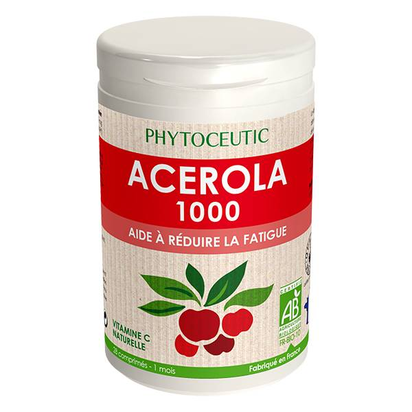 Phytoceutic Bio Acérola 1000mg 28 comprimés