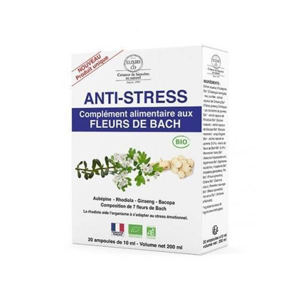 Elixirs & Co Anti-Stress 20 ampoules