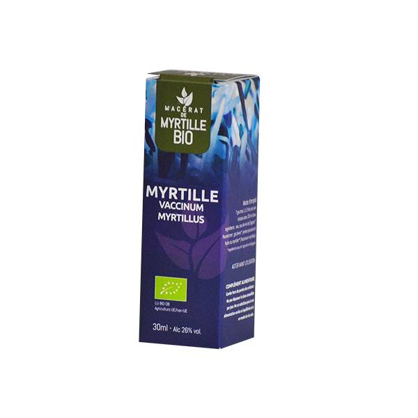 Dr Theiss Macérat de Myrtille Bio 30ml