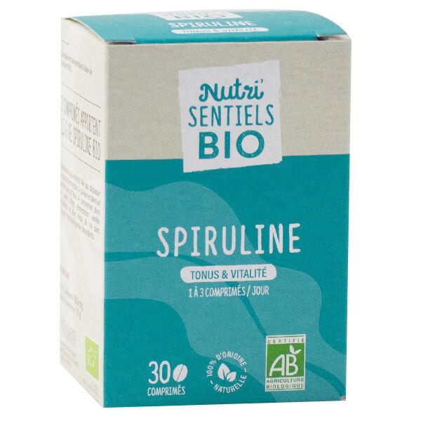 Nutrisanté Les Nutri'Sentiels Bio Spiruline 30 comprimés