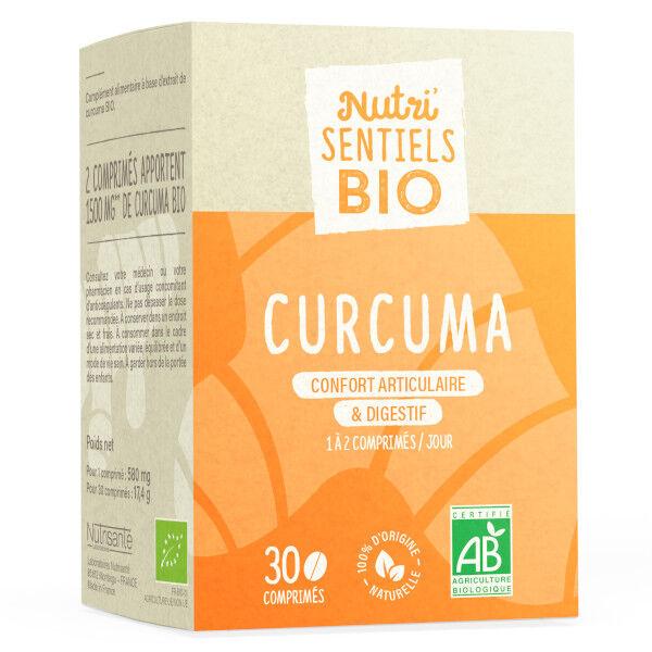 Nutrisanté Les Nutri'Sentiels Bio Curcuma 30 comprimés