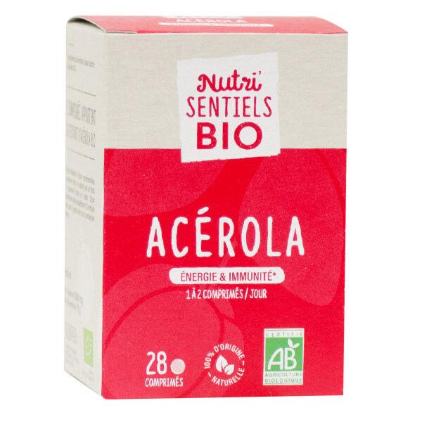 Nutrisanté Les Nutri'Sentiels Bio Acérola 28 comprimés
