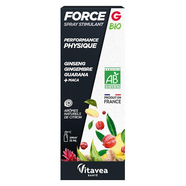 Nutrisanté Force G Bio Stimulant Performance Physique Spray 15ml