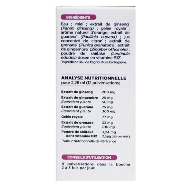 Nutrisanté Force G Bio Energie au Quotidien Spray 15ml