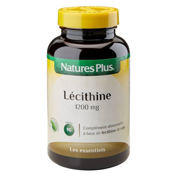 Natures Plus Lécithine 1200mg 90 capsules