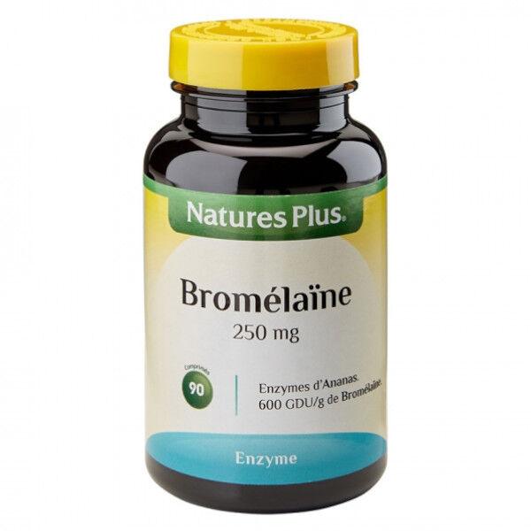 Natures Plus Bromelaïne 250mg 90 comprimés