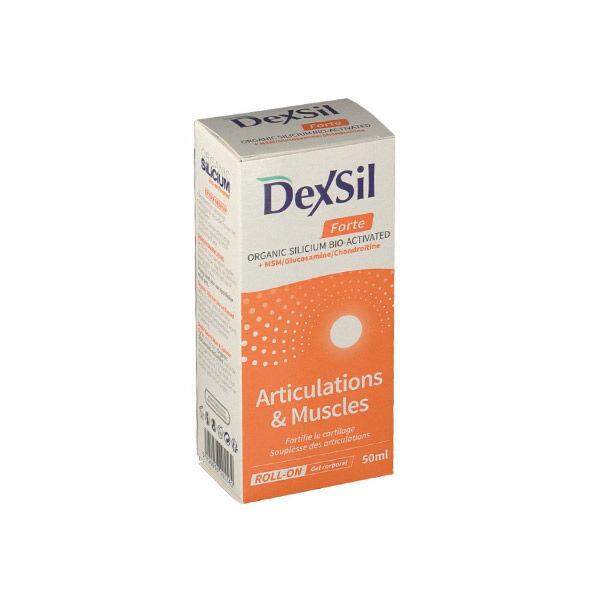 Dexsil Gel Corporel Articulations MSM 50ml