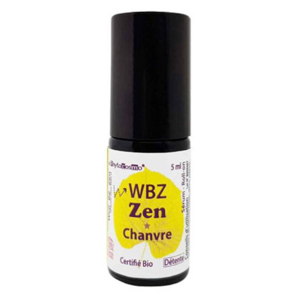 Phytocosmo WBZ Zen Sérum Chanvre Roll-On Bio 5ml