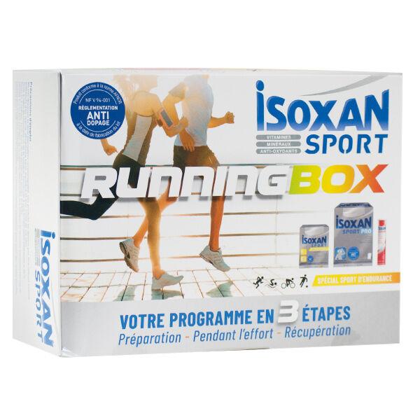 Isoxan Sport Running Box Endurance 20 comprimés + Sport pro 10 sachets + Actiflash 14 comprimés