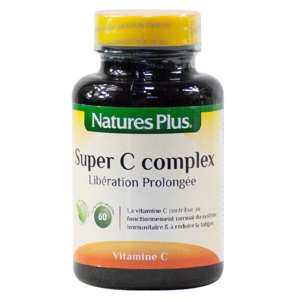 Natures Plus Super C Complex 60 comprimés