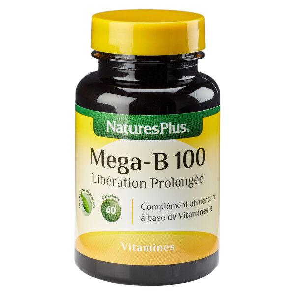 Natures Plus Mega B-100 60 comprimés