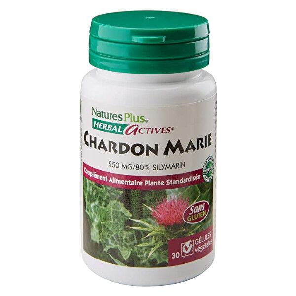 Natures Plus Chardon Marie 30 gélules