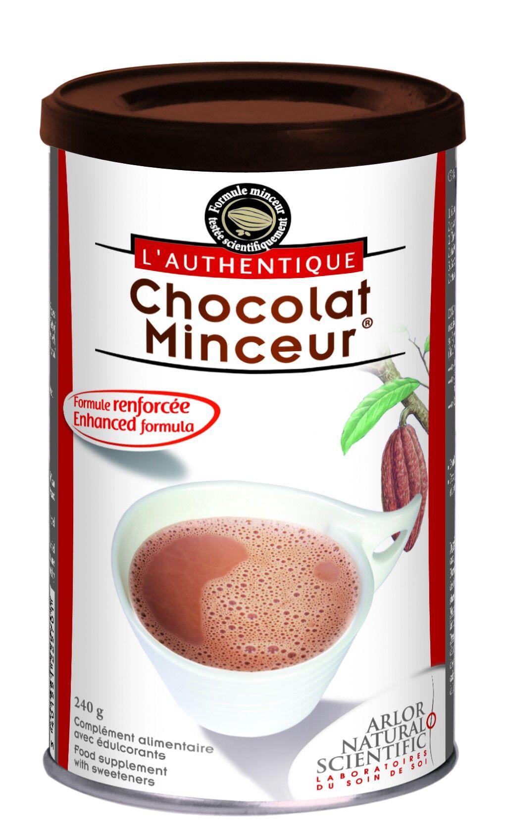 Arlor L'Authentique Chocolat Minceur Poudre 240g