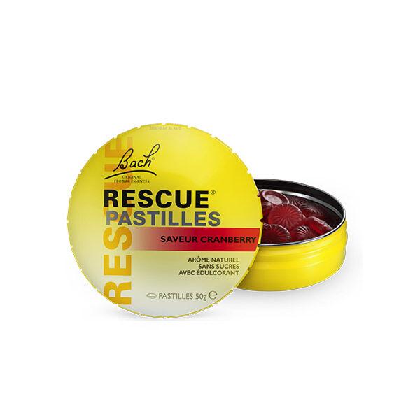 Rescue Pastilles Saveur Cranberry 50g