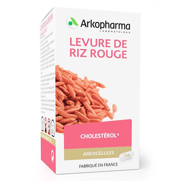Arkopharma Arkogélules Levure de Riz Rouge 150 gélules