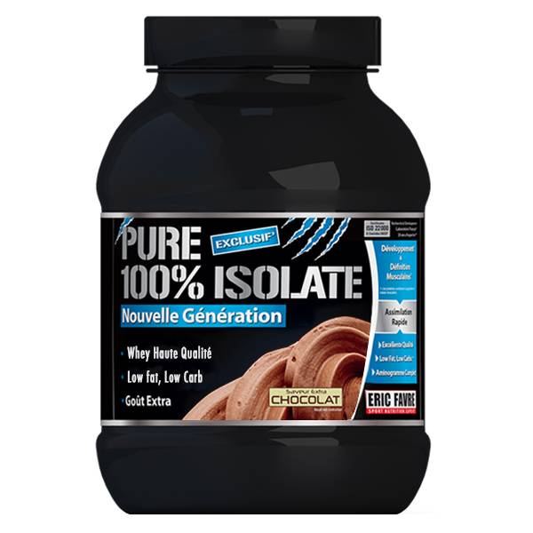 Eric Favre Pure 100% Isolate Saveur Extra Chocolat 2kg