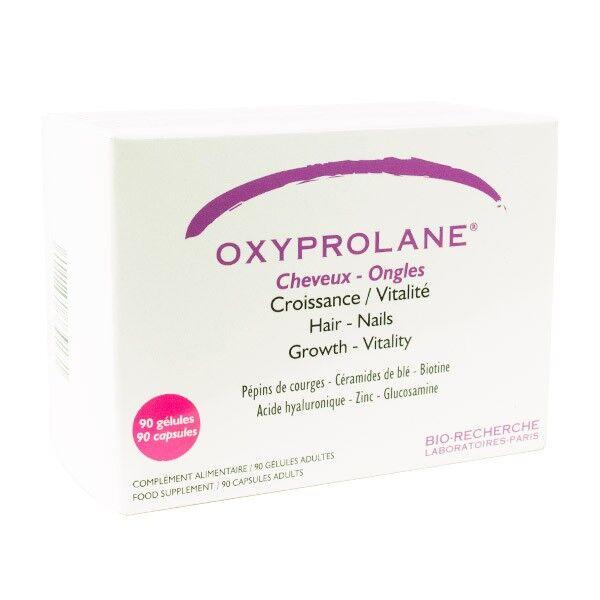 Bio-Recherche Oxyprolane Cheveux et Ongles 90 gélules