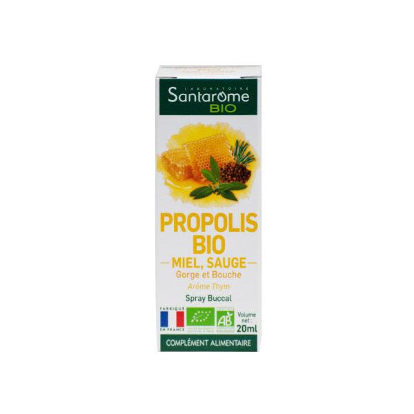 Santarome Bio Spray Gorge Propolis 20ml