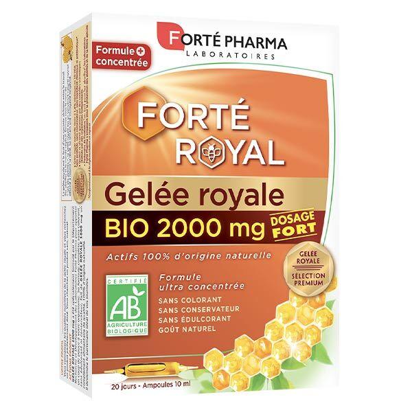 Forté Pharma Forté Royal Gelée Royale 2000mg Bio 20 ampoules