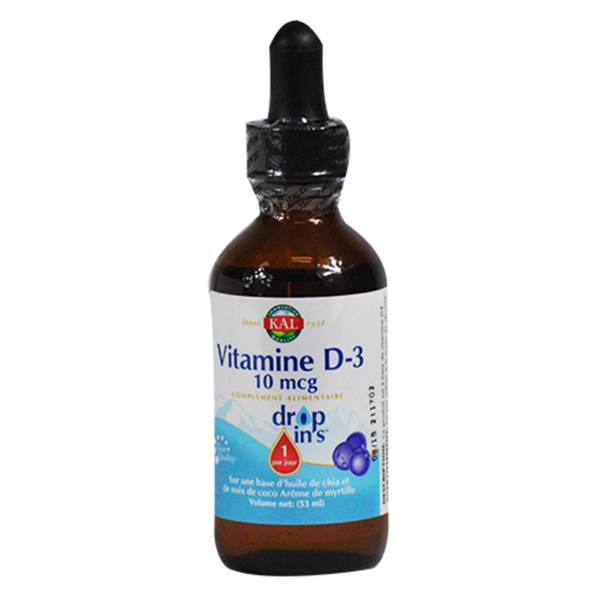 Kal Vitamine D3 16,6mcg Liquide 53ml
