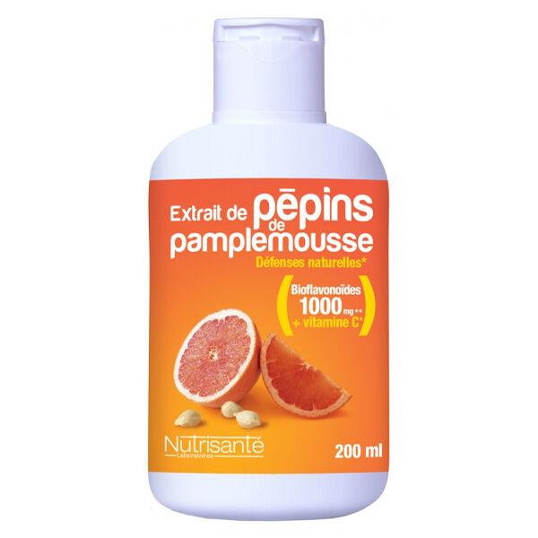 Nutrisanté Extrait Pépins de Pamplemousse 200ml