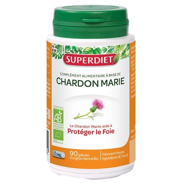 SuperDiet Super Diet Chardon Marie Bio 90 gélules