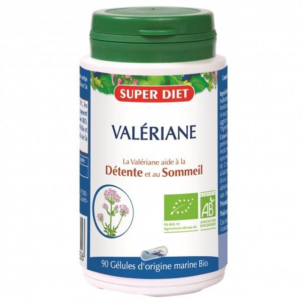 Super Diet Valeriane Bio - 90 gélules