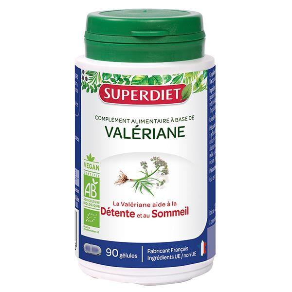 Superdiet Valeriane Bio 90 gélules