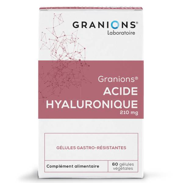 Granions Acide Hyaluronique 210mg 60 gélules