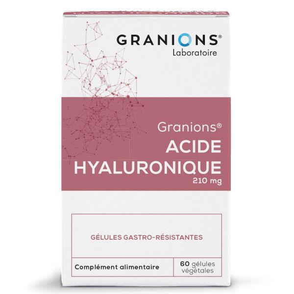 Laboratoire des Granions Granions Acide Hyaluronique 210mg 60 gélules