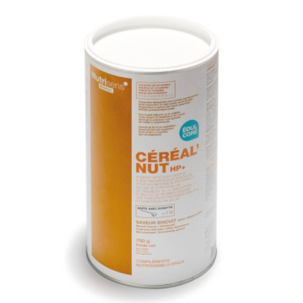 Nutrisens Céréales Cereal'Nut HP+ Biscuit 6 x 50g
