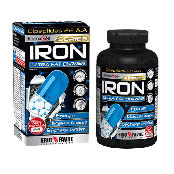 Eric Favre Iron O2 Burner Séchage Dosage Extrême 120 gélules