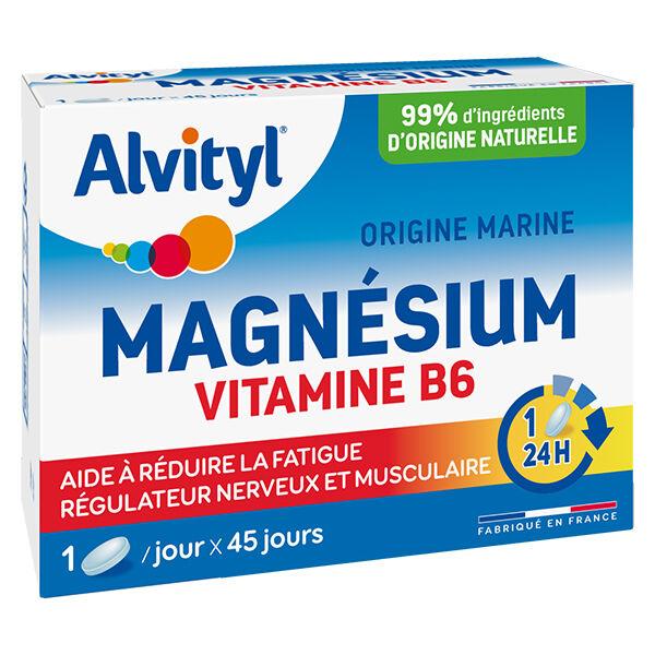 Alvityl Magnésium Vitamine B6 45 comprimés