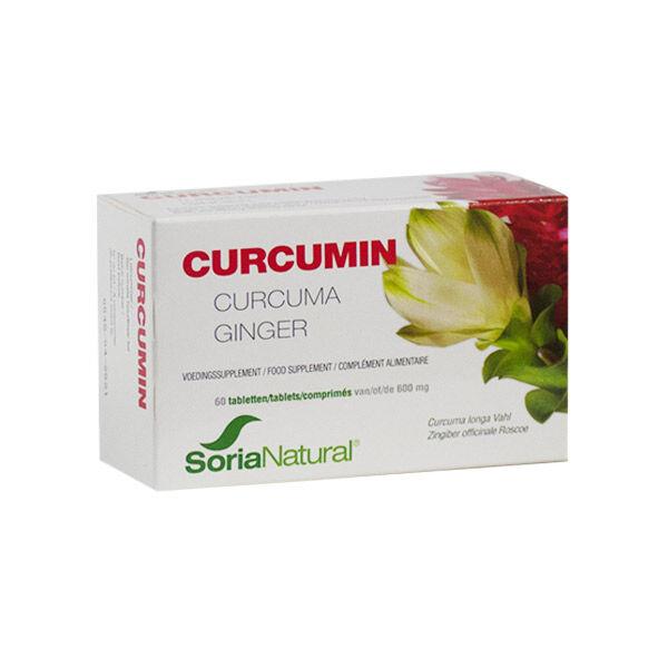 Soria Natural Curcumin 60 comprimés