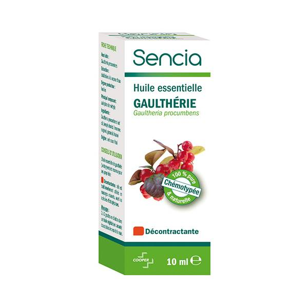 Sencia Huile Essentielle Gaultherie 10ml