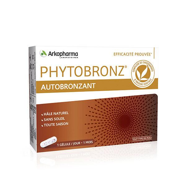 Arkopharma Phytobronz Autobronzant Hâle Naturel Vitamines A & E 30 gélules