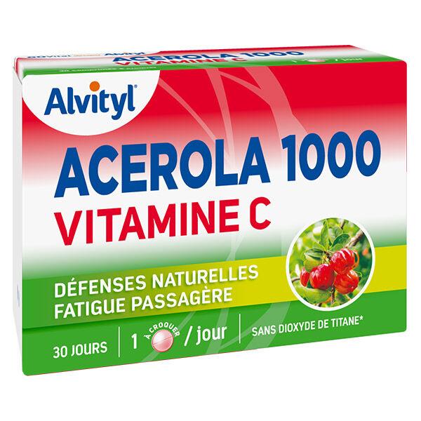 Alvityl Acerola 1000 30 comprimés à croquer
