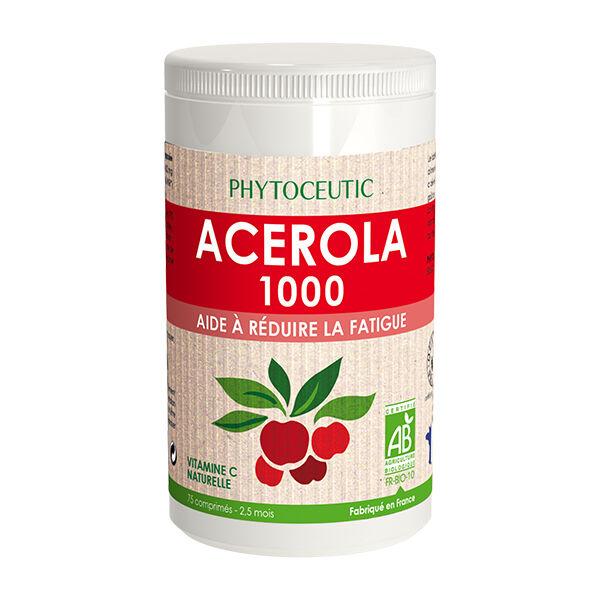 Phytoceutic Bio Acérola 1000mg 75 comprimés