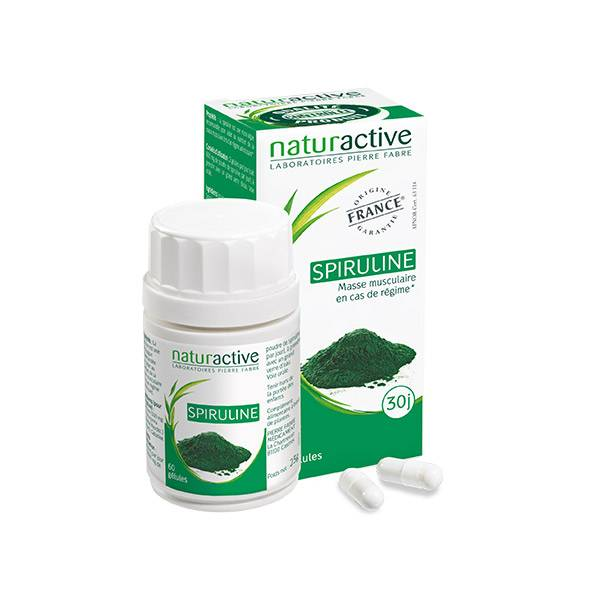 Naturactive Spiruline 60 gélules