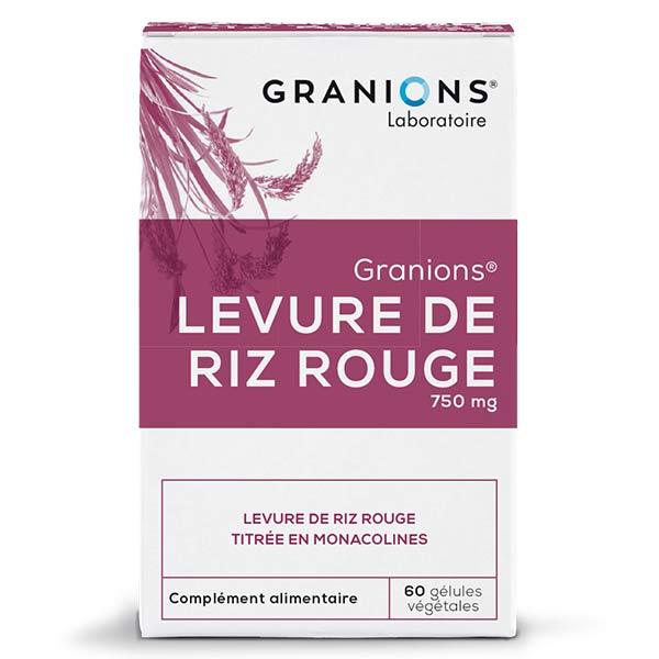Laboratoire des Granions Granions Levure de Riz Rouge 150mg 30 gélules