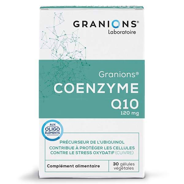 Laboratoire des Granions Granions Coenzyme Q10 120mg 30 gélules