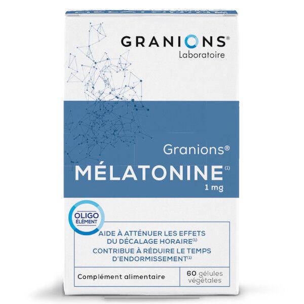 Laboratoire des Granions Granions Mélatonine 60 gélules