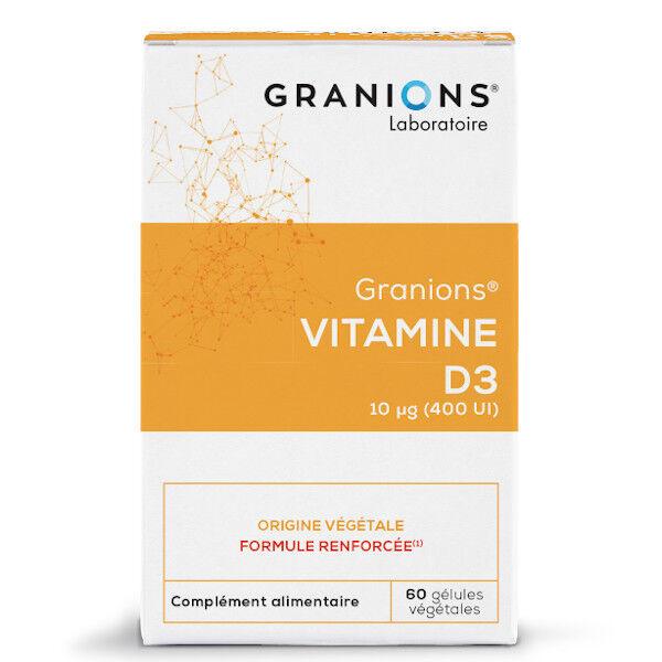 Laboratoire des Granions Granions Vitamine D3 60 gélules