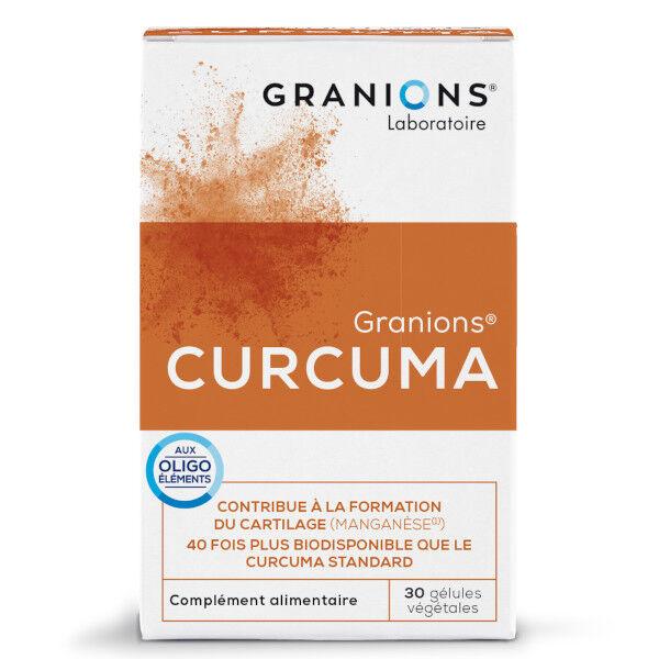 Laboratoire des Granions Granions Curcuma 30 gélules