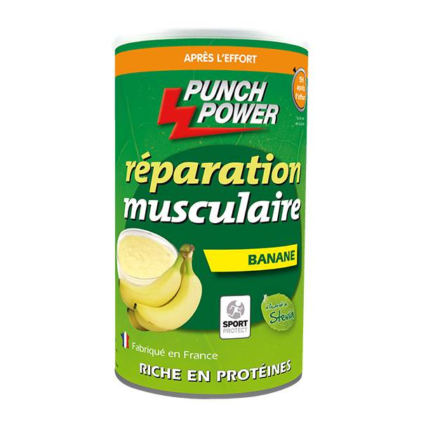 Punch Power Biodej Réparation Musculaire Banane 480g