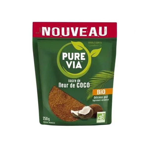 Pure Via Sucre de Fleur de Coco Bio 250g